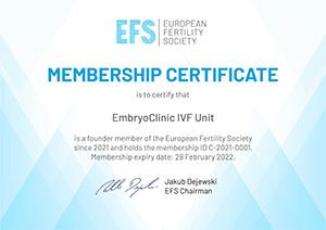 EFS – European Fertility Society